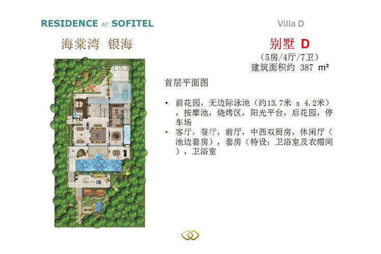 别墅D户型 5室4厅7卫1厨