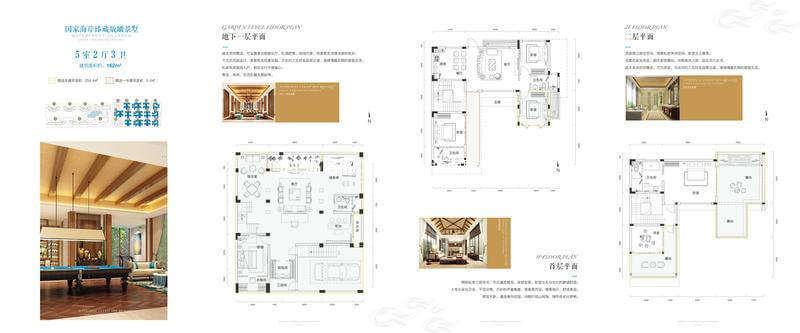 别墅D 5室2厅3卫