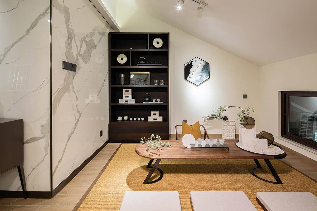 100㎡平阁户型-二楼茶室