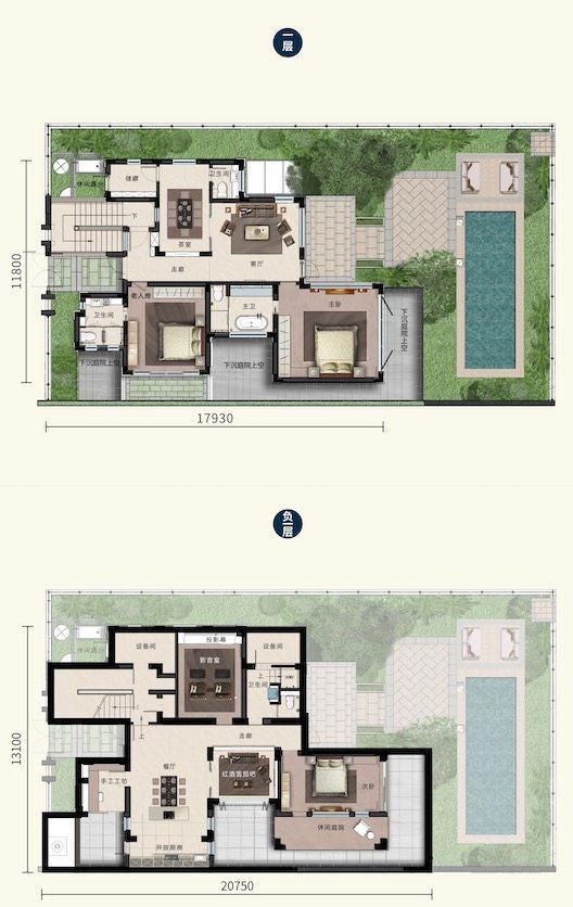 E户型3居室